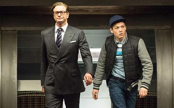 "Colin Firth and Taron Egerton star in ""Kingsman: The Secret Service"""